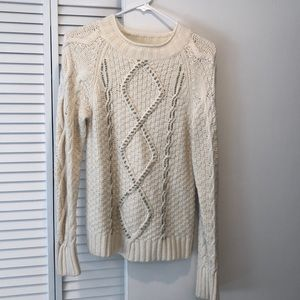 J Crew knit embellished sweater